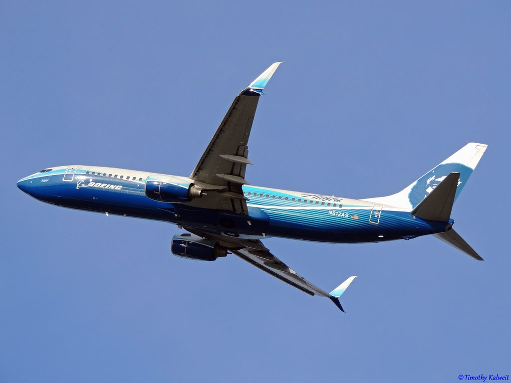 Alaska Airlines Spirit of Seattle Boeing 737-890 [N512AS]