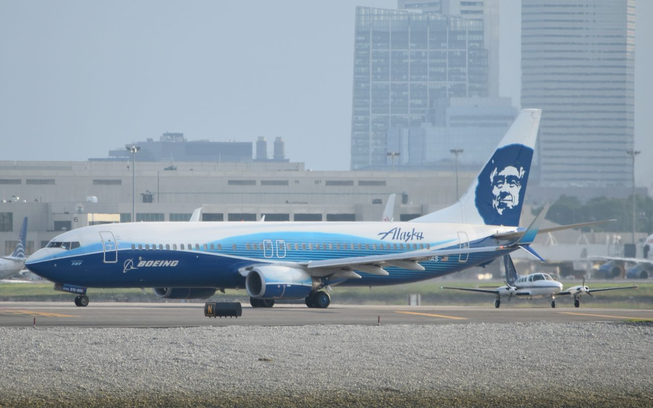 Alaska Airlines Boeing 737-800 Special Livery Spirit of Seattle