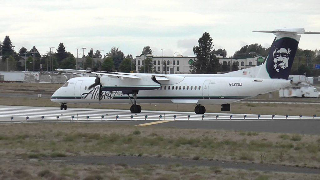 Alaska Airlines (Horizon Air) Bombardier Dash 8-Q400 Departure from Spokane, WA (KGEG)