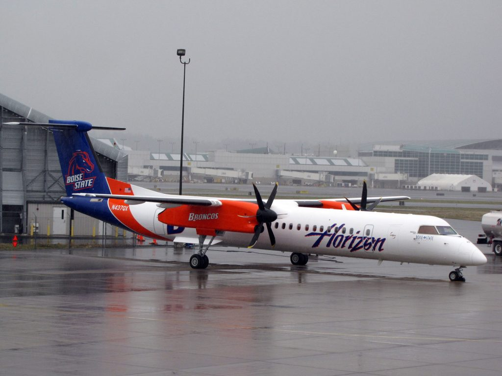Alaska Airlines (Horizon) Boise State University Broncos Special Livery Bombardier Dash 8-Q400
