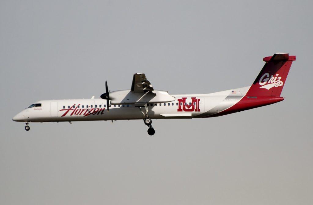 Alaska Horizon Air Dash8-Q400 「University of Montana Grizzlies」