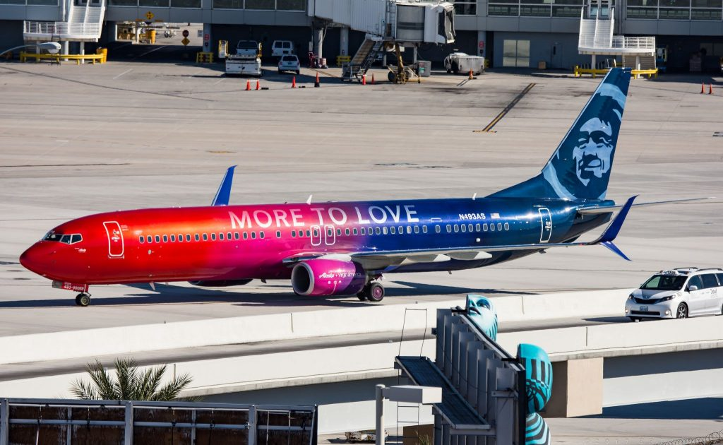 Alaska (More to Love Livery) - Boeing 737-990ER - N493AS