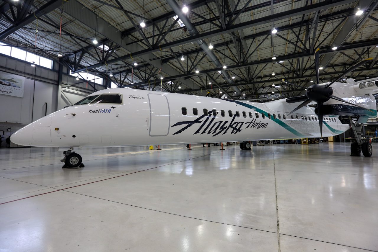 Bombardier Aerospace's Latest Delivery to Horizon Air (Alaska Airlines) Brings Fleet to More Than 50 Q400 Aircraft