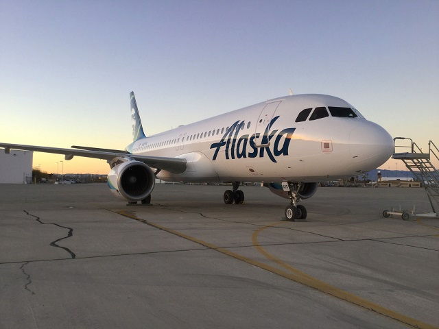 alaska airlines airbus a320 transferred from virgin america