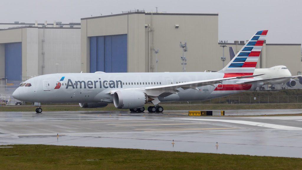 787-8 N818AL AMERICAN AIRLINES
