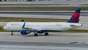 A321-211SL, Delta Air Lines, F-WZMO, N314DN (MSN 7281) - First Delta Air Lines aircraft assembled at Mobile (BFM)