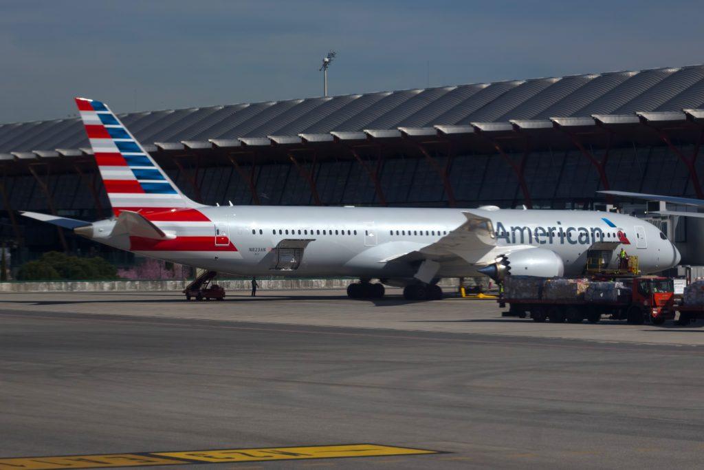 AAL962 - American Airlines - 787-9 Dreamliner (B789) - N823AN