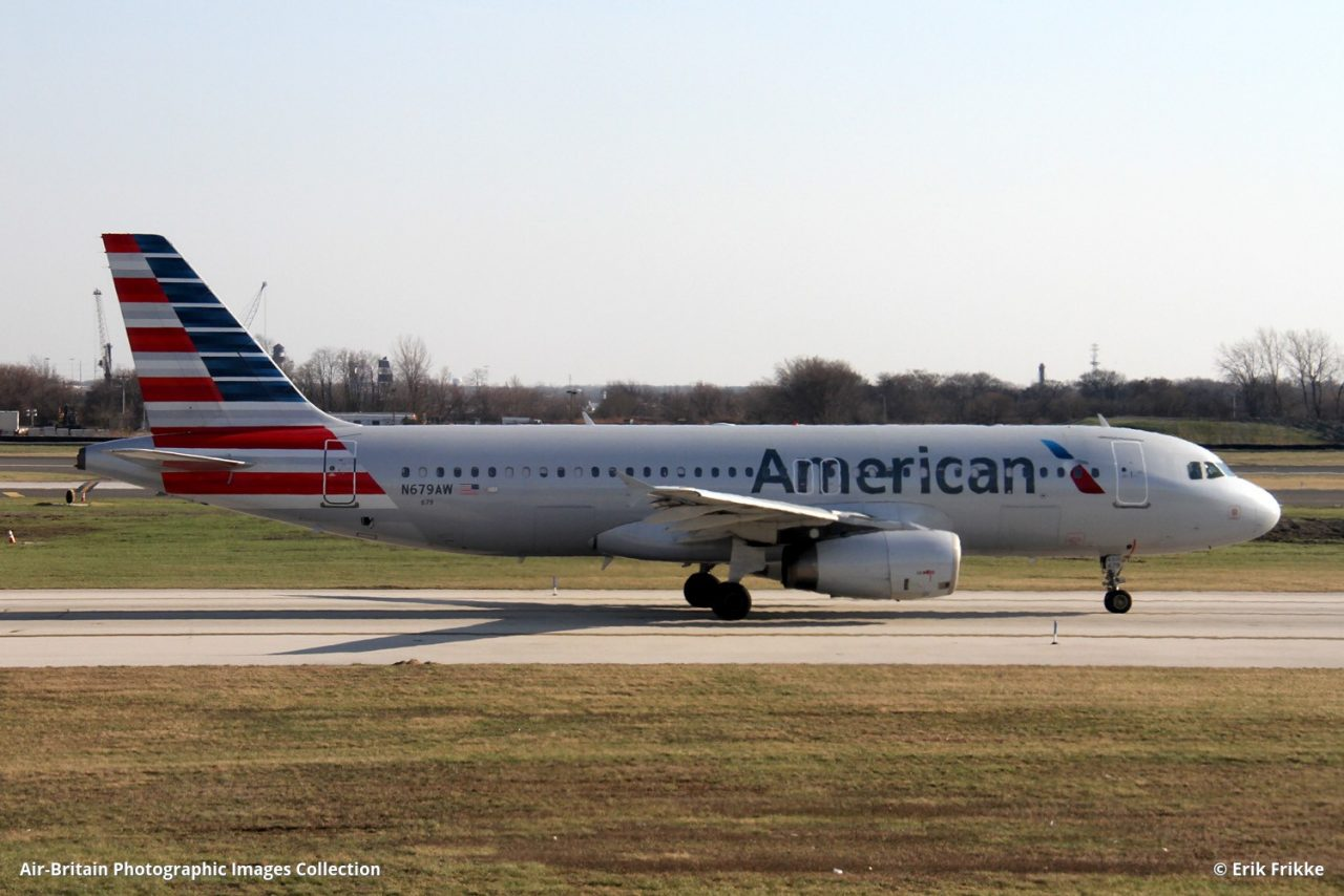Airbus A320-232 · American Airlines (AA : AAL) · Philadelphia International (PHL : KPHL), USA - Pennsylvania @Erik Frikke