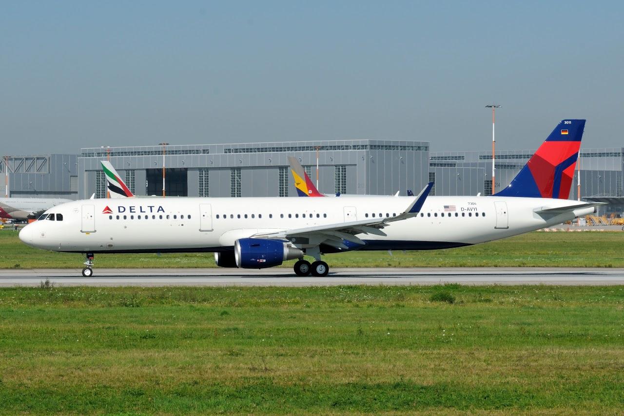 Airbus A321-211SL Delta Air Lines Aircraft Fleet D-AVYI N311DN (MSN 7304)