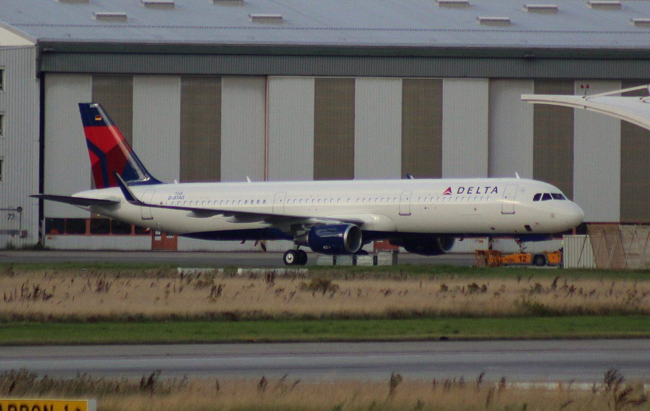 Airbus A321-211SL Delta Air Lines D-AYAO, N309DN (MSN 7268)