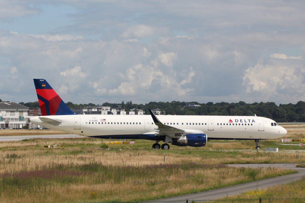 Airbus A321-211SL, Delta Air Lines, D-AZAO, N304DN (MSN 7112)