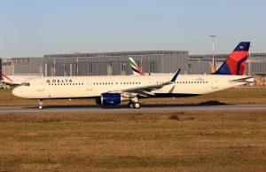 Airbus A321-211SL Delta Air Lines Fleet D-AVXQ, N315DN (MSN 7436)