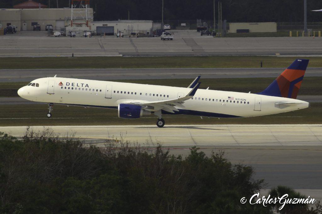 Airbus A321-211(SL) (N314DN)— Delta Air Lines Fleet Photos @Carlos Guzman