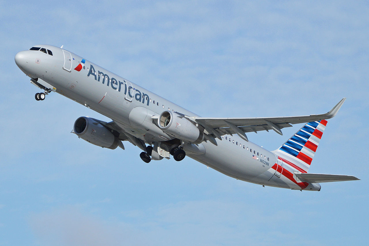 Airbus A321-231(w) 'N102NN' American Airlines