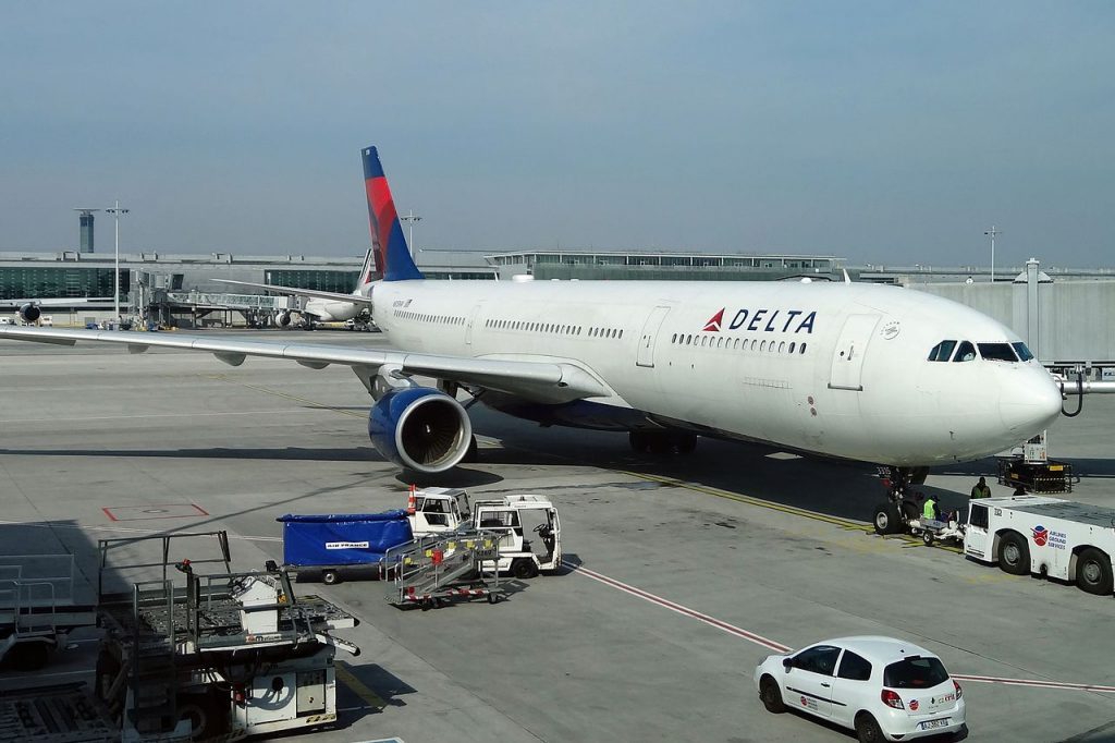 Airbus A330-323X N815NW Delta Air Llines at CDG Paris Charles de Gaulle Airport