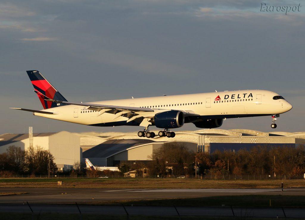 Airbus A350-941, Delta Air Lines, F-WZFW, N507DN (MSN 182) @Eurospot