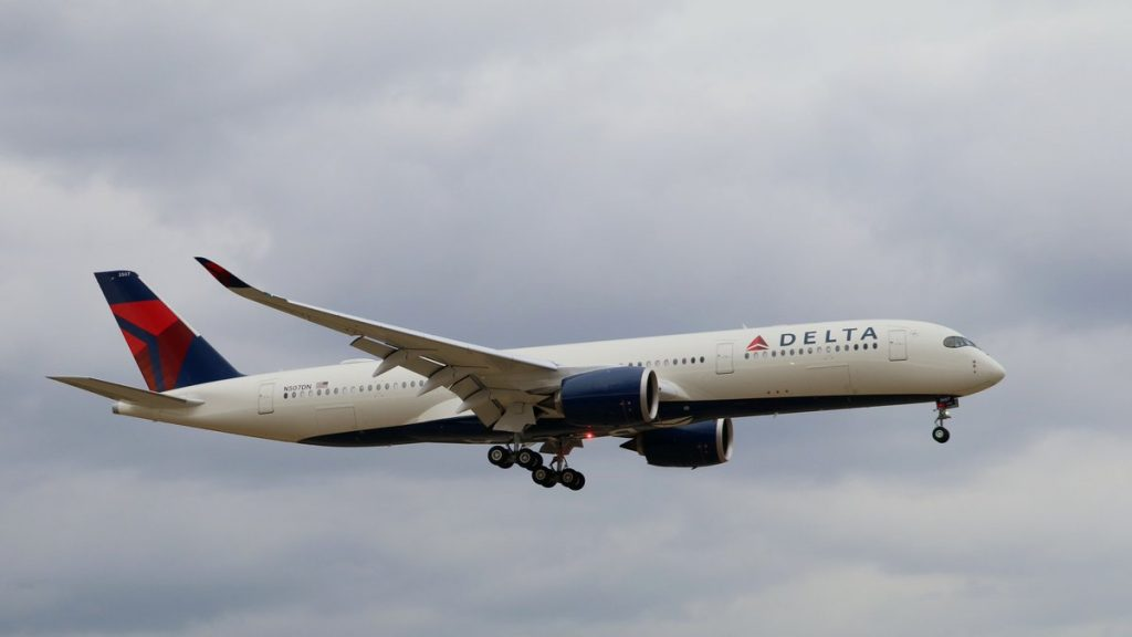 Airbus A350-941 Delta Air Lines Fleet Registration Number N507DN