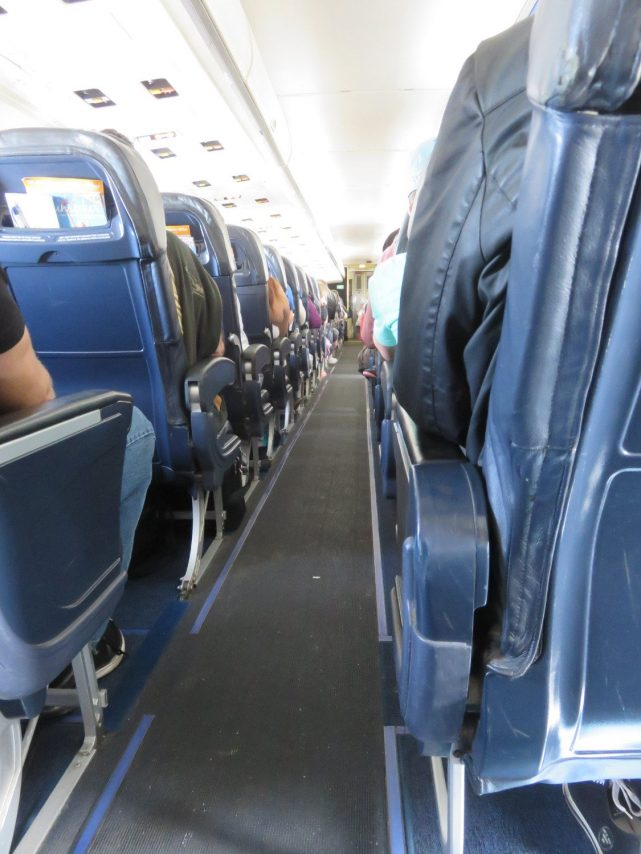Allegiant Air Airbus A320-200 Interior Cabin Photos