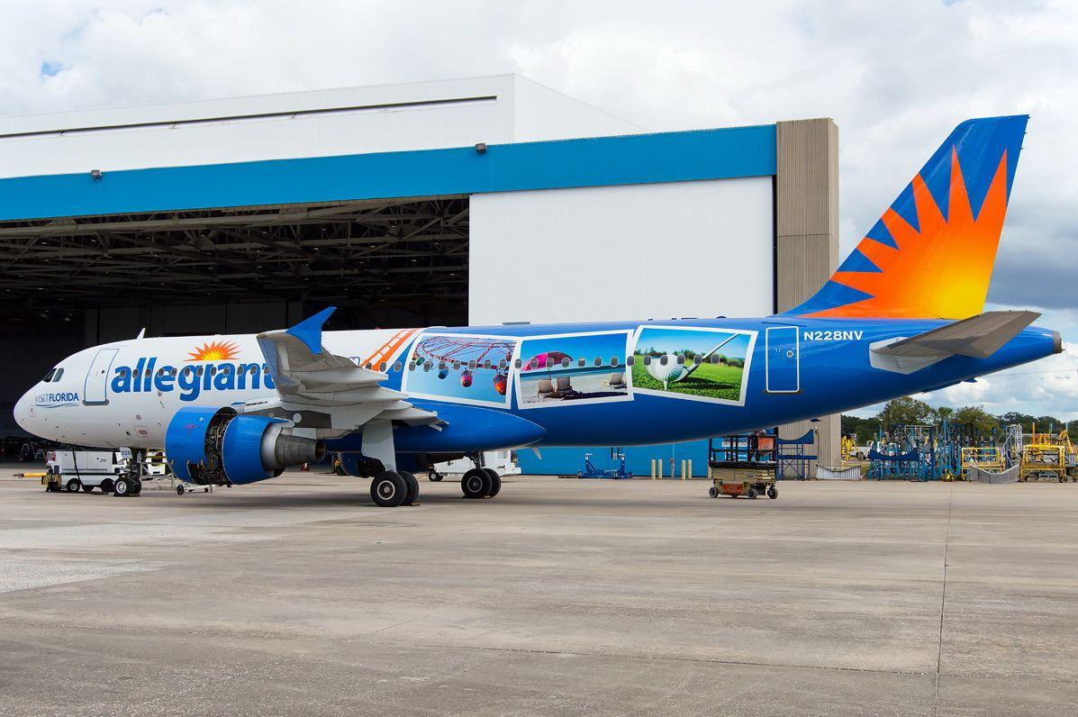Allegiant Air Airbus A320-200 (Visit Florida Livery)