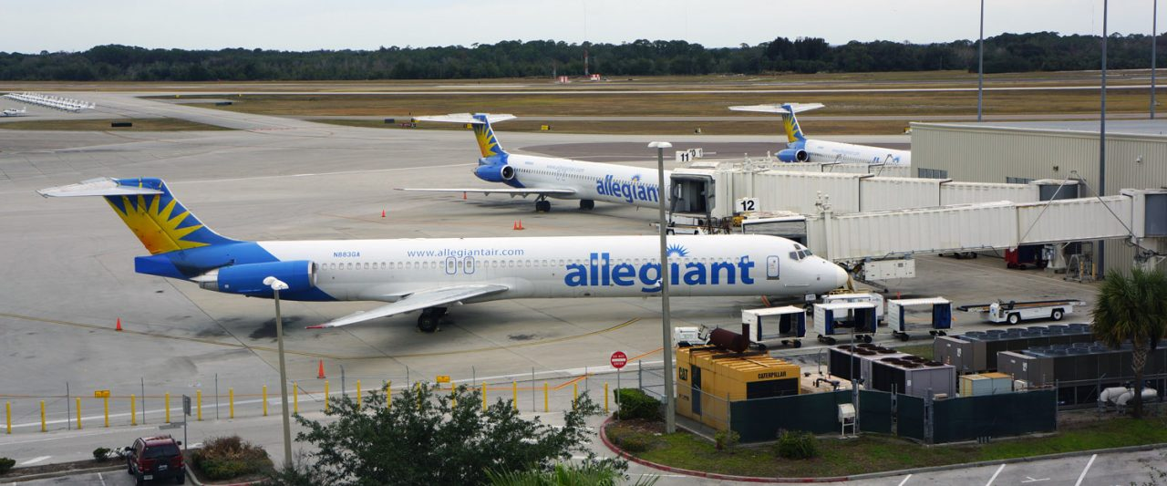 Allegiant Air McDonnell Douglas MD-83 at Orlando Sanford International