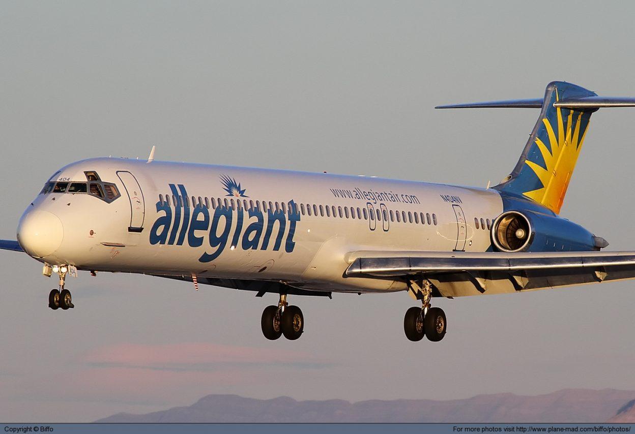 Allegiant Air McDonnell Douglas MD-88 N404NV at Las Vegas McCarran @Biffo