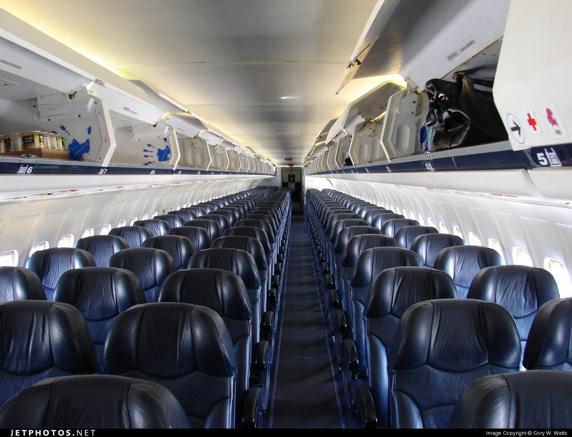 Allegiant Air McDonnell Douglass MD-83 Seating Row Configuration Economy Class @Cory W Watts - JetPhotos.net