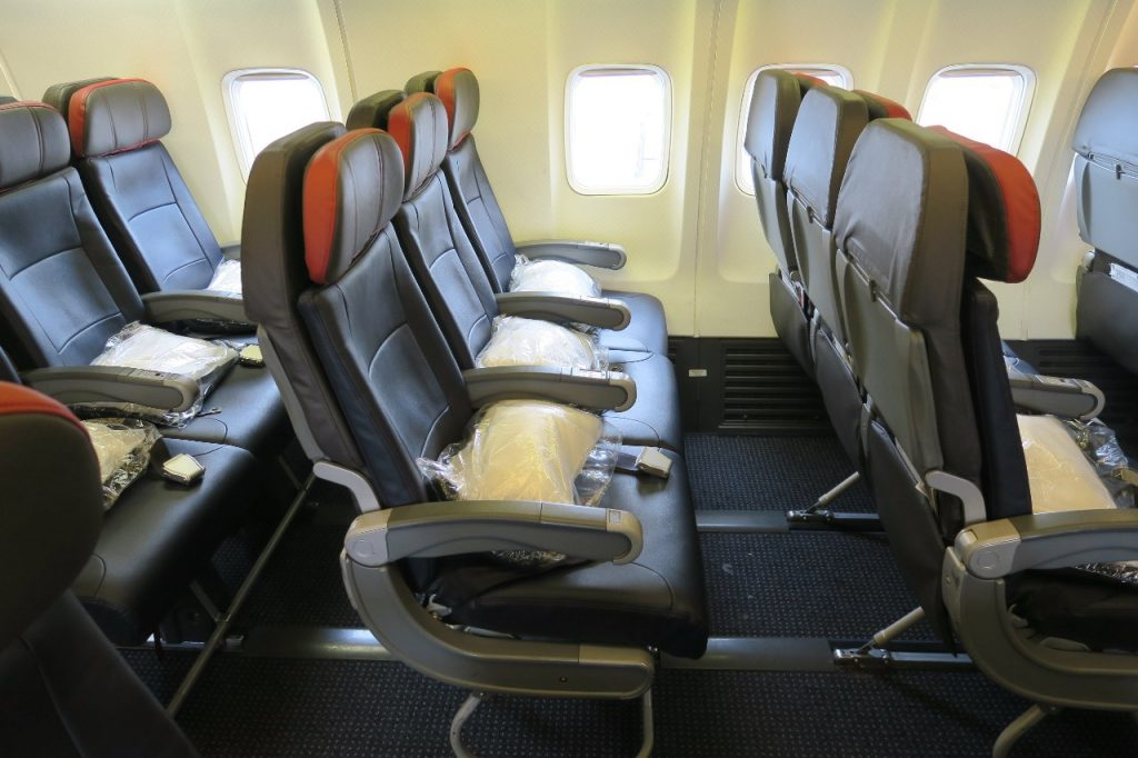 American Airlines 757-200 Main Cabin Seating Chart