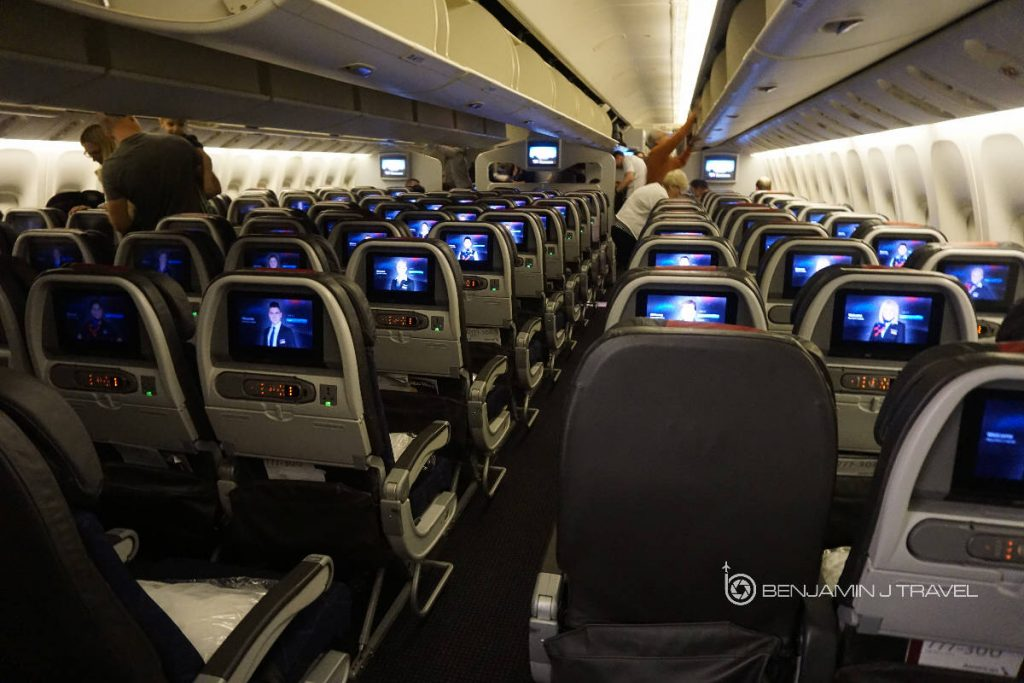 American Airlines 777-300ER Economy Class Los Angeles to Sydney @BENJAMIN J TRAVEL