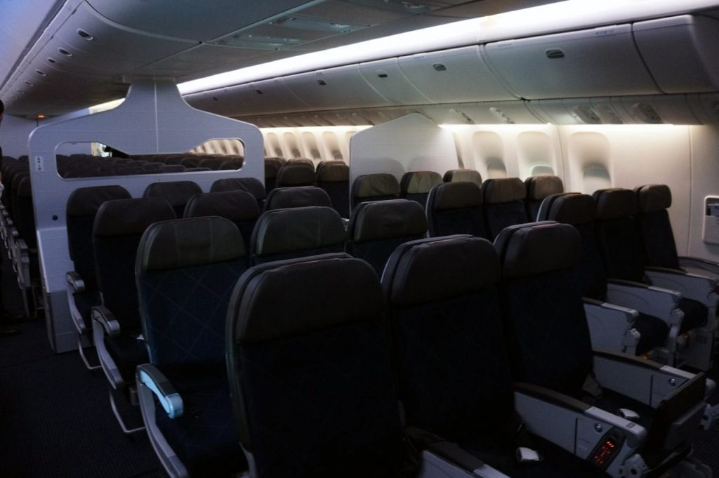 American Airlines 777-300er Main Cabin Seats Photos