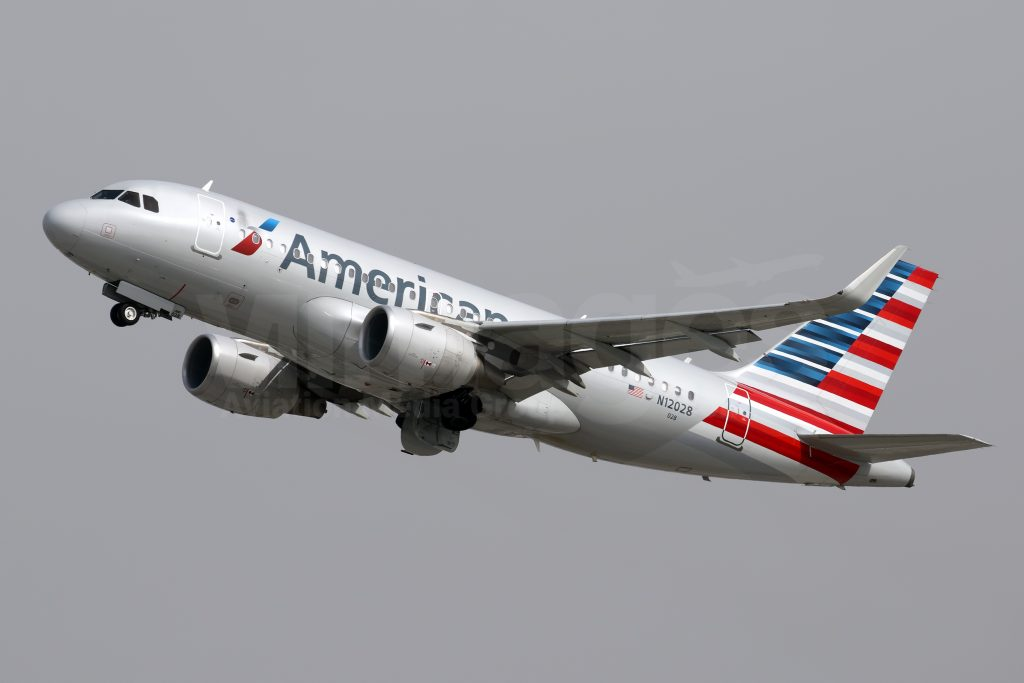 American Airlines Fleet Airbus A319 100 Details And