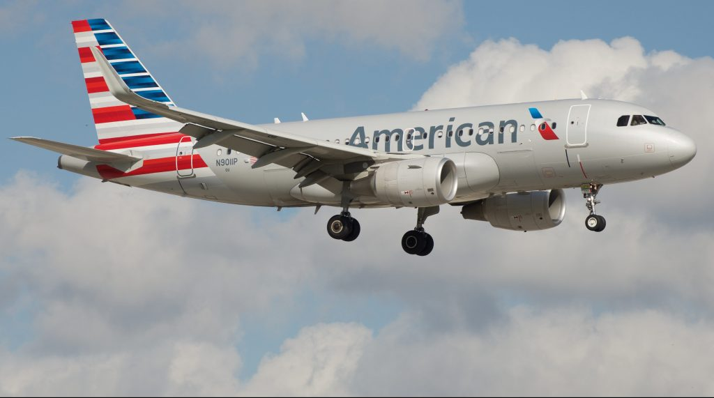 American Airlines (Airbus A319) First Class From Los Angles to Denver