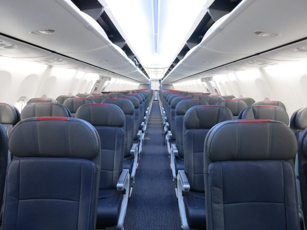 American Airlines Airbus A320-200 Economy Class Seats