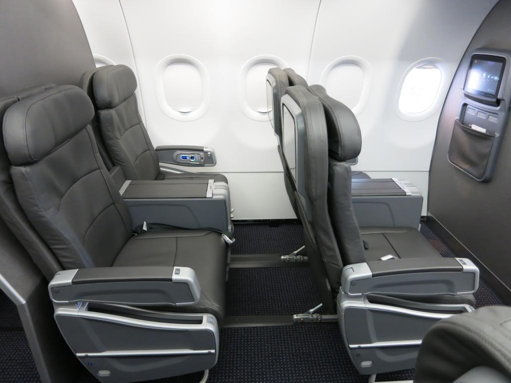 American Airlines Airbus A320-200 First Class Seats