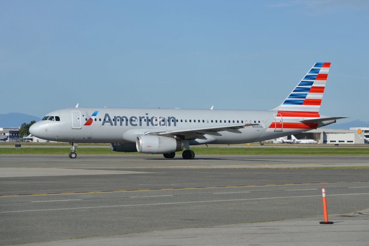 American Airlines Airbus A320-200 N680AW