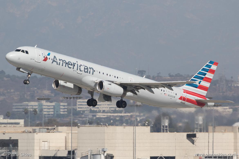 American Airlines Airbus A321-200 N540UW at Los Angeles International Airport (KLAX:LAX) @Plane Skies