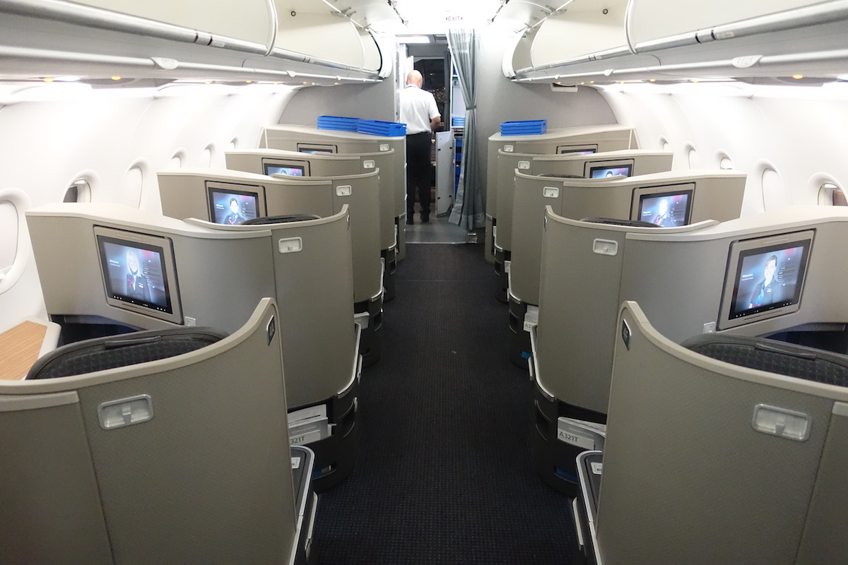 American Airlines Airbus A321 First Class Cabin Configuration