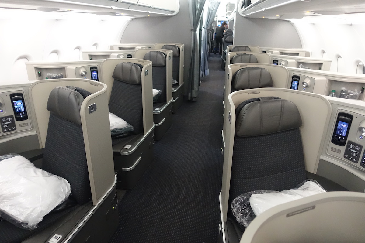 American Airlines Airbus A321 First Class Cabin Photos