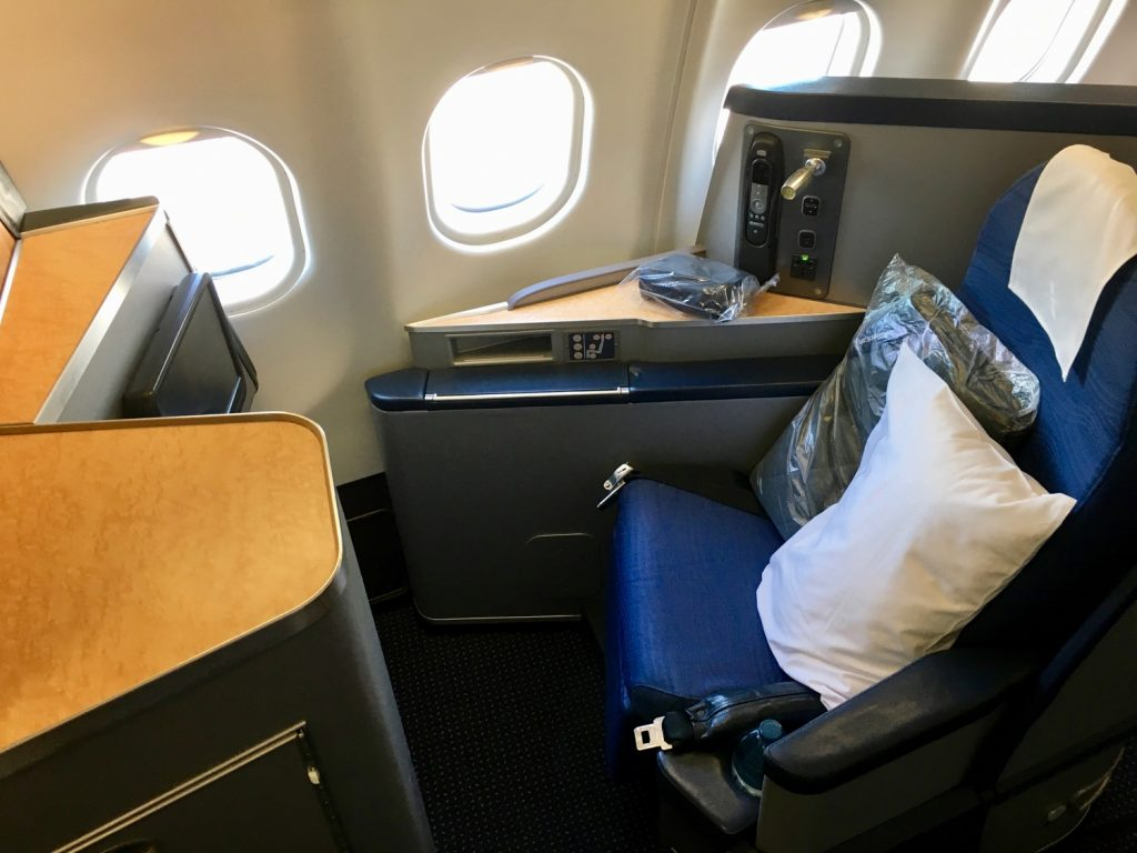 American Airlines Airbus A330-200 Business Class Cabin Seats