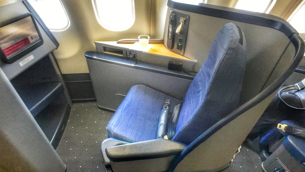 American Airlines Airbus A330-200 Business Class Seats
