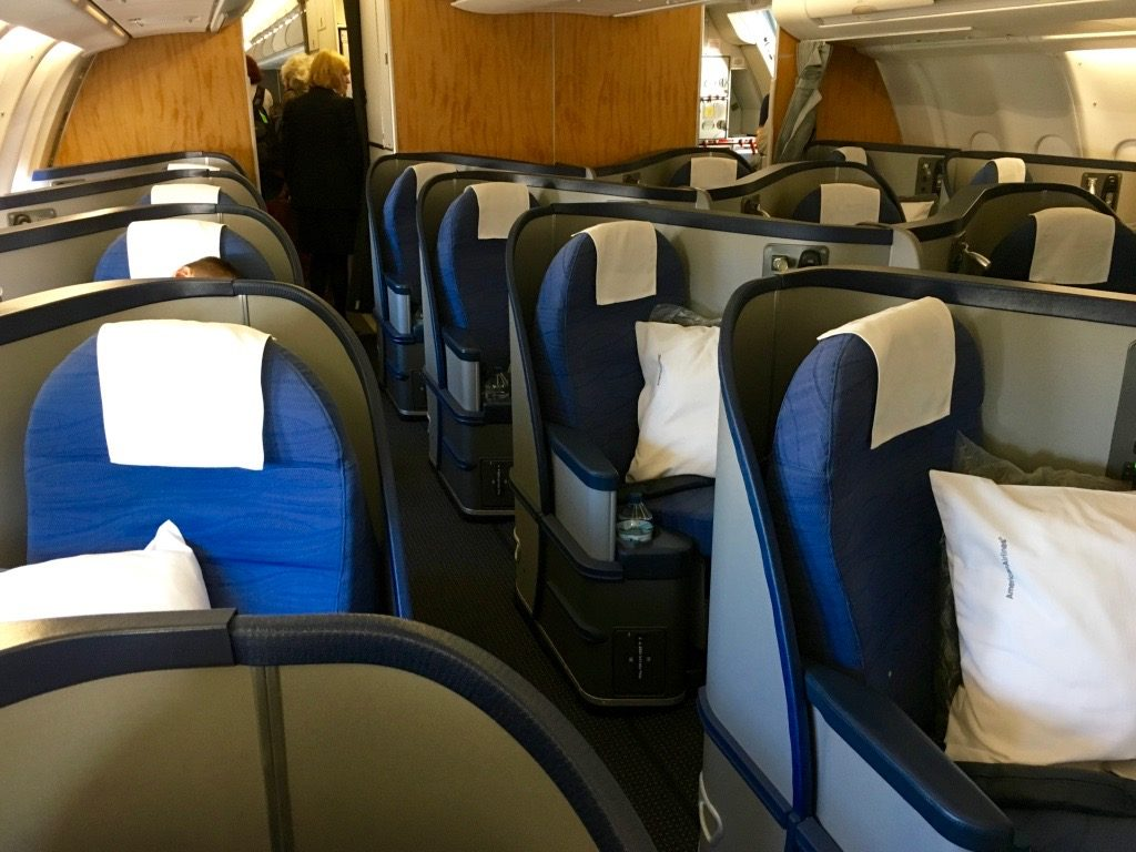 American Airlines Airbus A330-200 Business Class Seats Configuration Photos