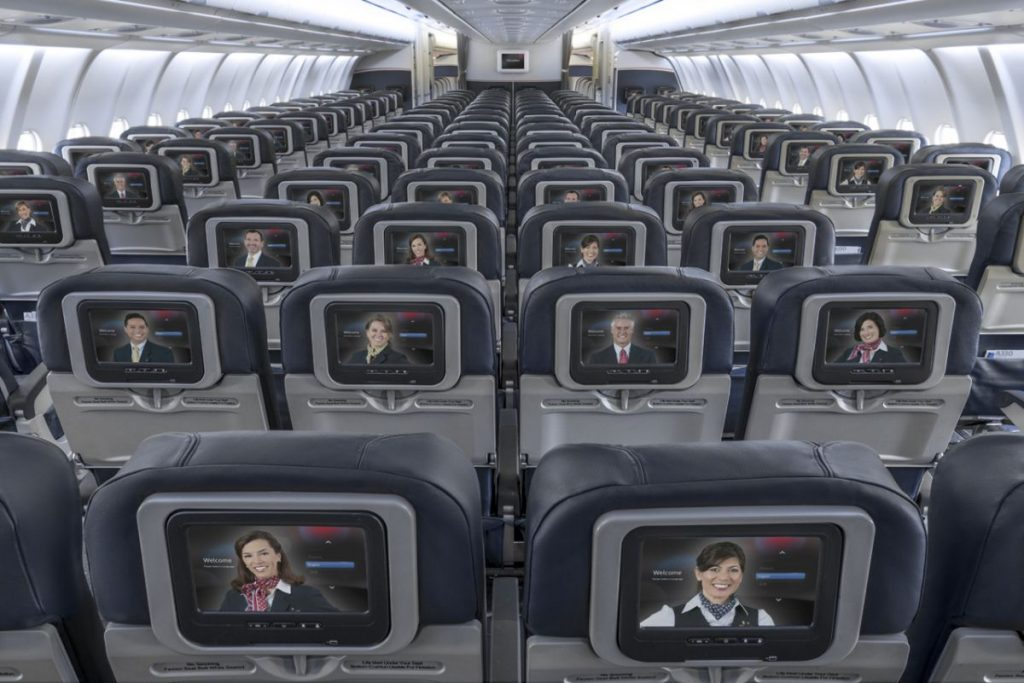 American Airlines Airbus A330-200 Cabin Interior Configuration