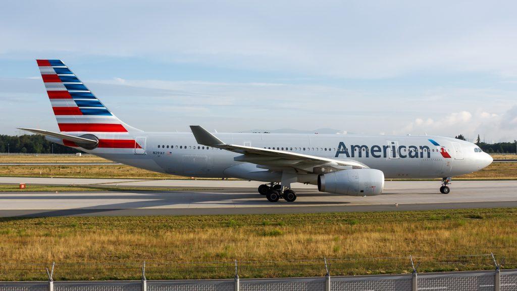American Airlines Airbus A330-200 (N291AY) at Frankfurt Airport