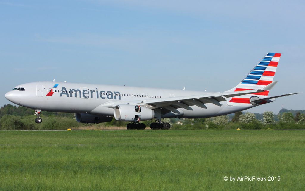 American Airlines Airbus A330-243 N286AY : ZRH @AirPicFreak