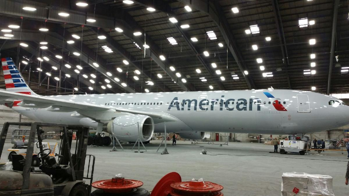 American Airlines Airbus A330-300 New Livery Colors