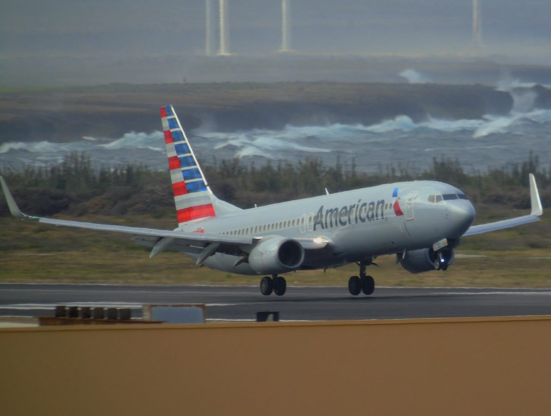 American Airlines Boeing 737-800 Takeoff || Curacao International Airport