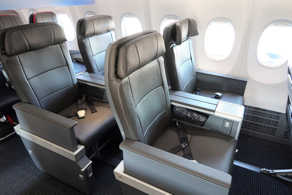 American Airlines Boeing 737 Max 8 First Class Seats