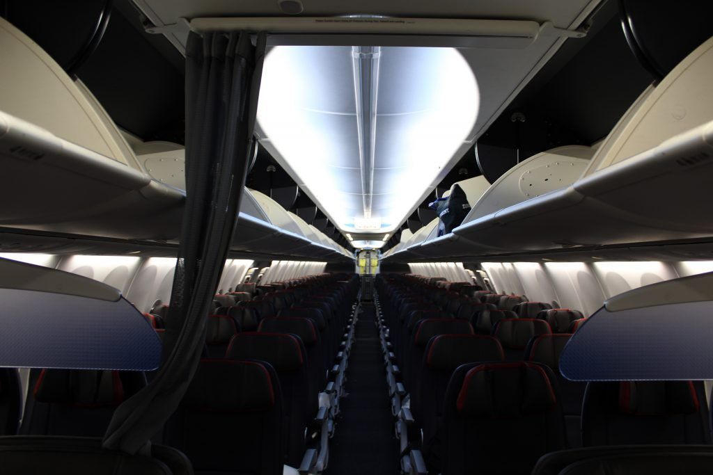American Airlines Boeing 737 Max 8 Main Cabin Economy Seats Configuration