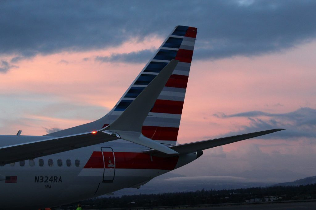 American Airlines Boeing 737 Max 8 N324RA Winglets Photos