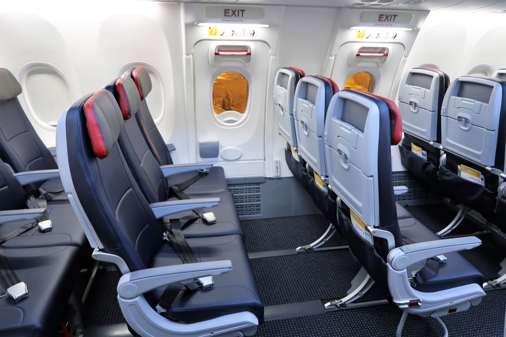American Airlines Boeing 737 Max 8 Standar Economy Seats