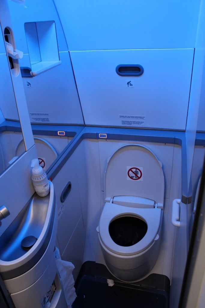 American Airlines Boeing 737 Max 8 equipped with 3 bathrooms